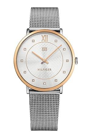 Tommy Hilfiger Reloj Análogo clásico para Mujer de Cuarzo con Correa en Acero Inoxidable 1781811: Tommy Hilfiger: Amazon.es: Relojes