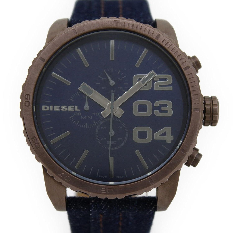 (ディーゼル) DIESEL フランチャイズ 腕時計 DZ-4284 ブルー文字盤 限定モデル クォーツ クロノグラフ メンズ 男性用 ウォッチ B0757JL8Y2