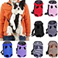 Whizzotech Pet Carrier Backpack, Adjustable Pet Front Cat Dog Carrier Backpack Travel Bag, Legs Out, Easy-Fit for Traveling Hiking Camping PB03 from Whizzotech Corp.