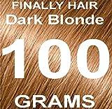 Finally Hair Building Fiber Refill Dark Blonde 100 Grams Hair Loss Concealer by Finally Hair (Dark Blonde)