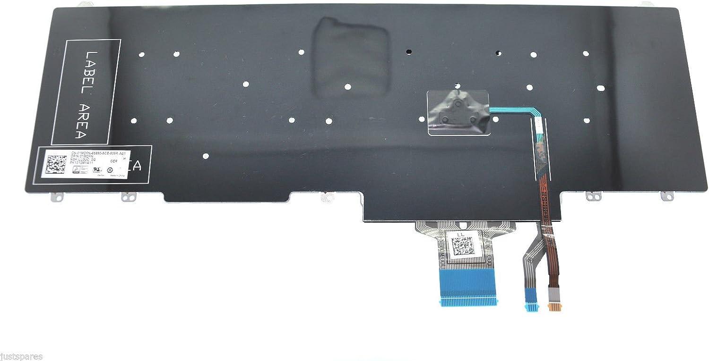 Dell Latitude E5550 E5570 GERMAN QWERTZ Keyboard P//N 1MDFN