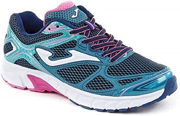 Joma - Zapatillas de running VItaly para mujer, color azul: Amazon.es: Zapatos y complementos