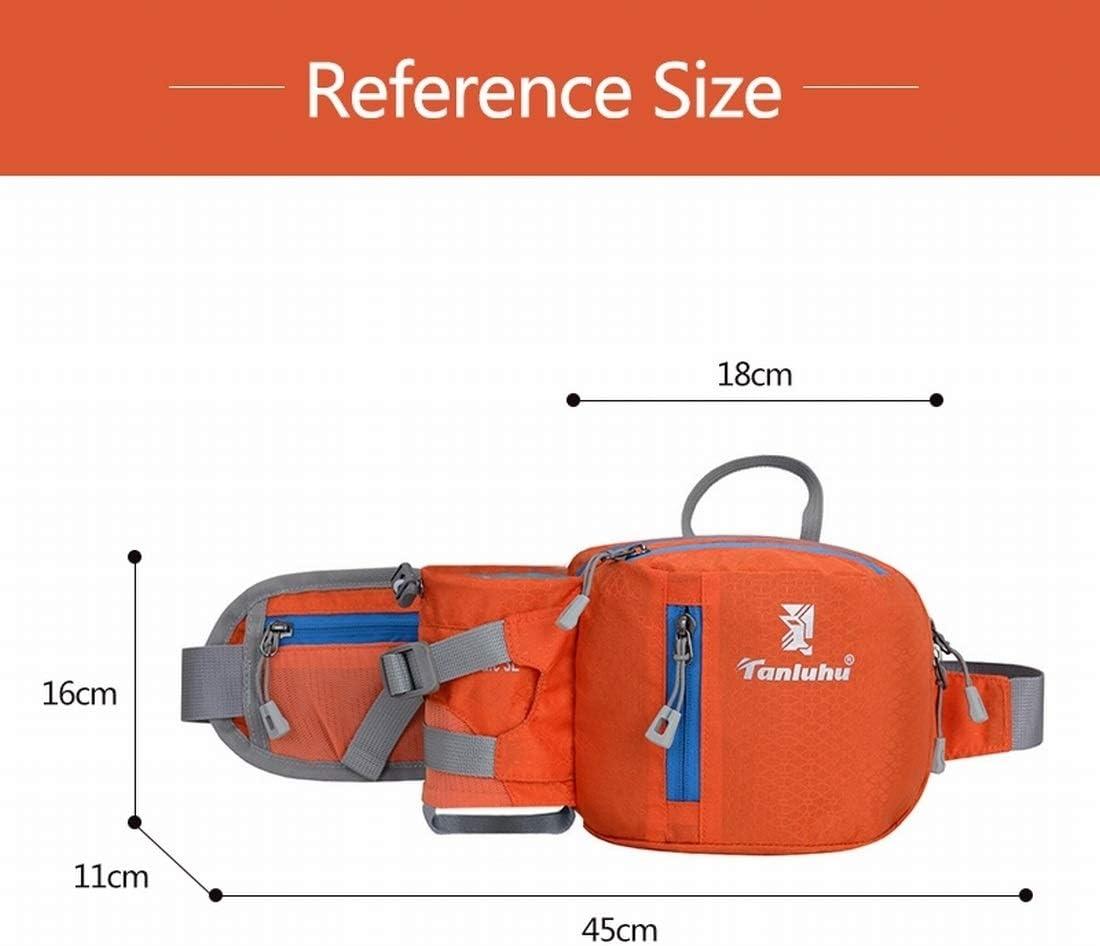 Sac banane de sac de taille durable 1pc avec porte-bouteille pour la course à