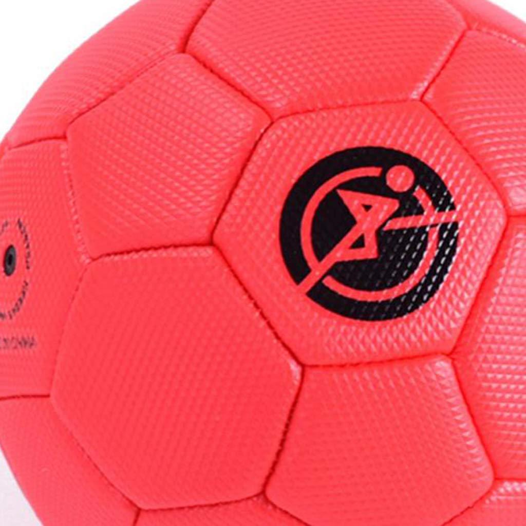 P Prettyia Fu/ßball Spielball mit Pumpe f/ür Kinder und Erwachsene