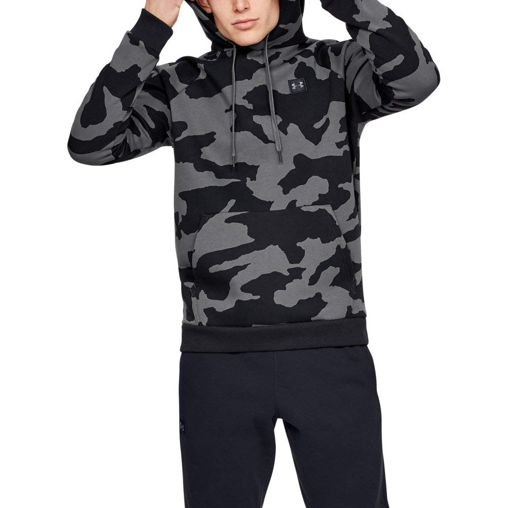 Under Armour UA Rival Fleece Camo MD Pitch Gray by Under Armour