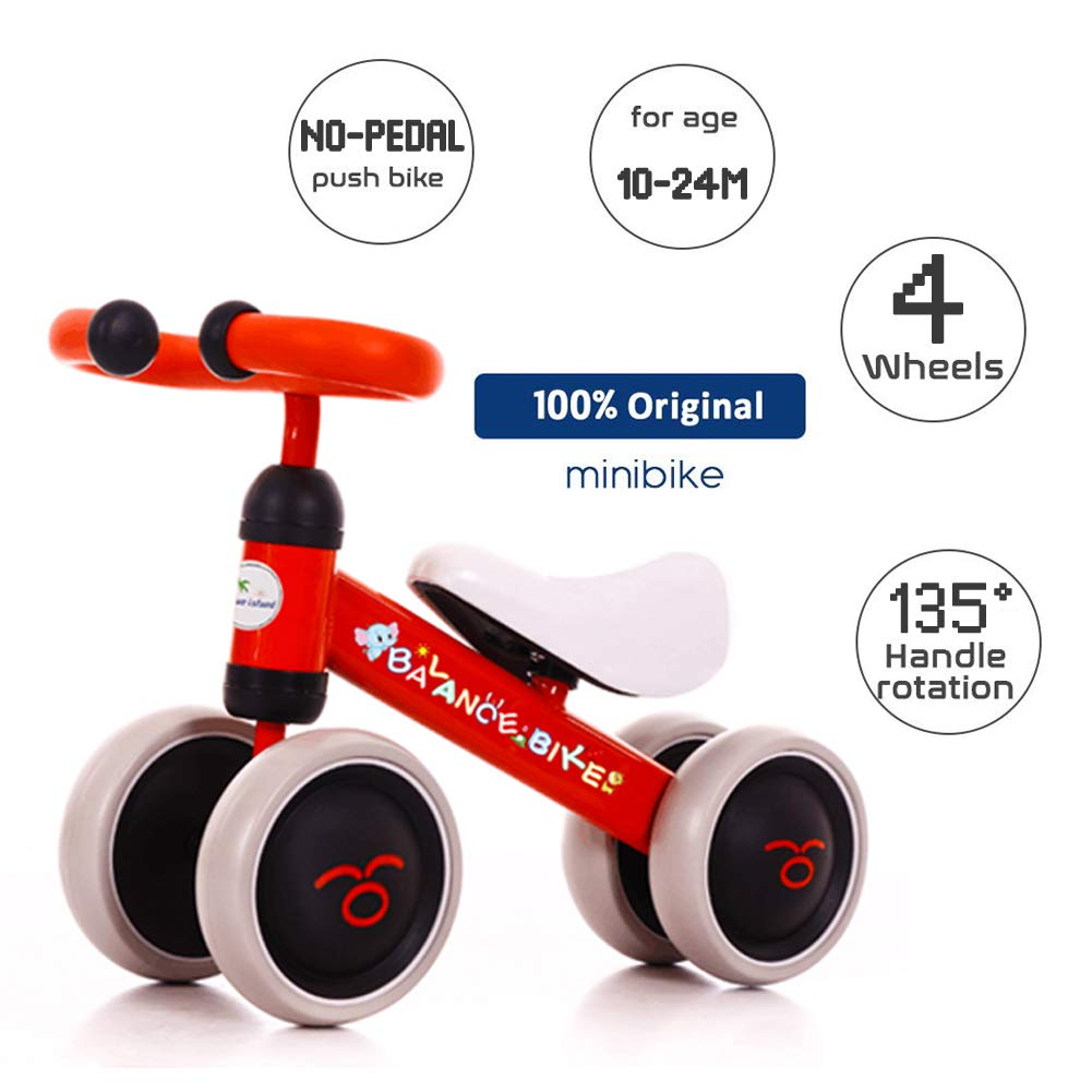 Amazon.com: Bicicletas de equilibrio para bebés, patinete ...