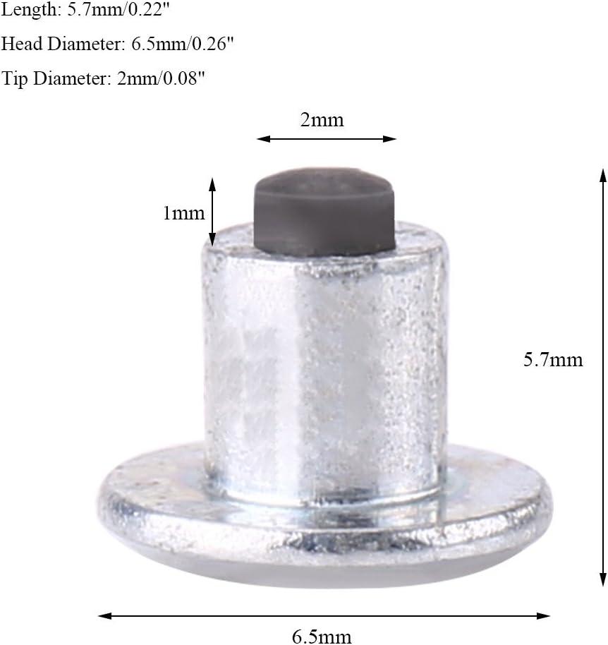 Qiilu 100pcs 8mm//0.31 Wheel Tyre Stud Screws Snow Tire Spikes for Car Auto SUV ATV