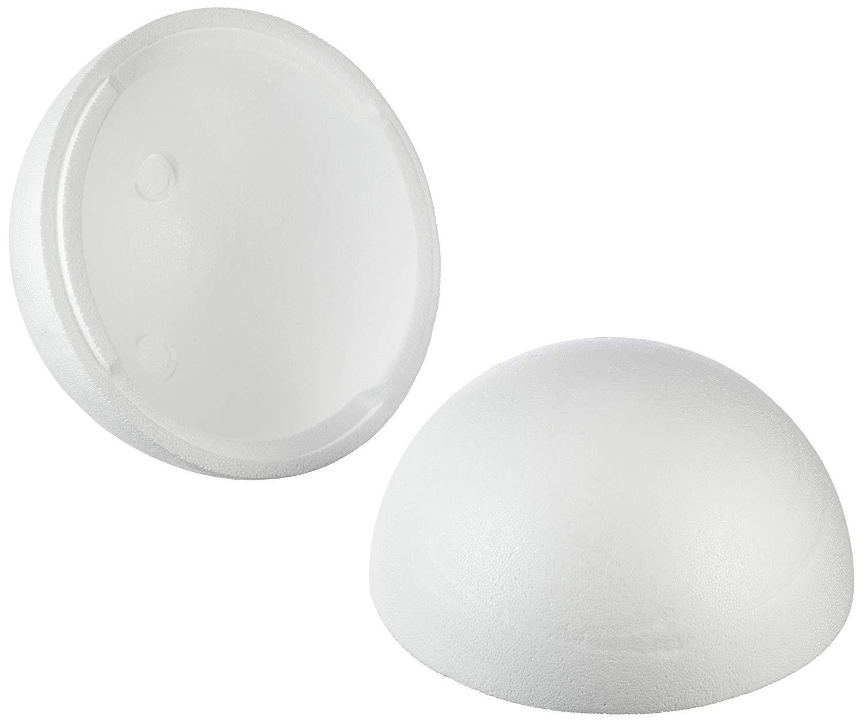 2 Medias Conchas 20 cm Bolas de Espuma de poliestireno Rayher 3306000