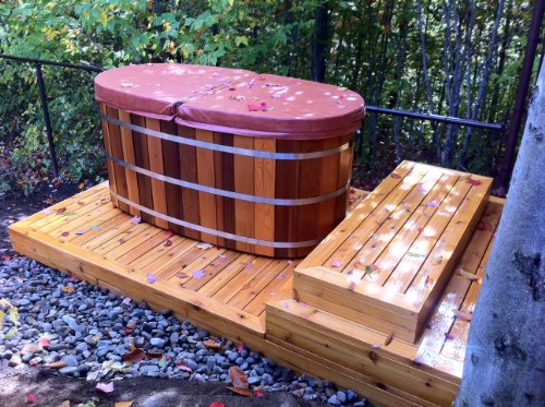 Ofuro Japanese Soaking Hot Tub 2 Person Wooden Tub In The UAE See Prices