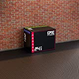 Epic Fitness 3-in-1 Foam Plyometric Jump Box