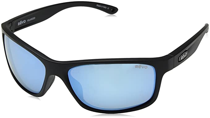 ab14968b617 Image Unavailable. Image not available for. Color  Revo Unisex RE 4071  Harness Wraparound Polarized UV Protection Sunglasses Rectangular