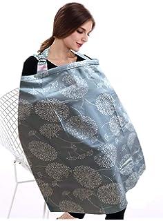 Pa/ñuelo de lactancia para lactancia almohada de lactancia bufanda para lactancia el regalo ideal para una nueva madre gris oscuro