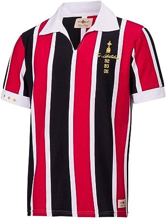 Camisa Polo Retrô Gol São Paulo Tri - Libertadores 92/93/05