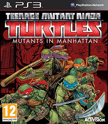 Teenage Mutant Ninja Turtles: Mutants in Manhattan - PlayStation 3 (Fighting Games Ps3)