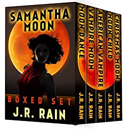 Amazon samantha moon the first four vampire for hire novels samantha moon the first four vampire for hire novels plus three bonus novels fandeluxe Images