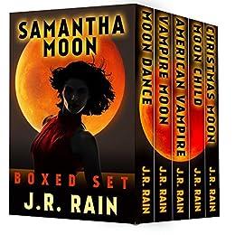 Samantha Moon: The First Four Vampire for Hire Novels (Plus Three Bonus Novels) by [Rain, J.R.]
