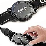 Ref-67 Porte Capuchon Porte Cache avant 52mm 58mm 67mm objectif Canon Nikon Pentax Tameron etc Marque française - JUNELIO