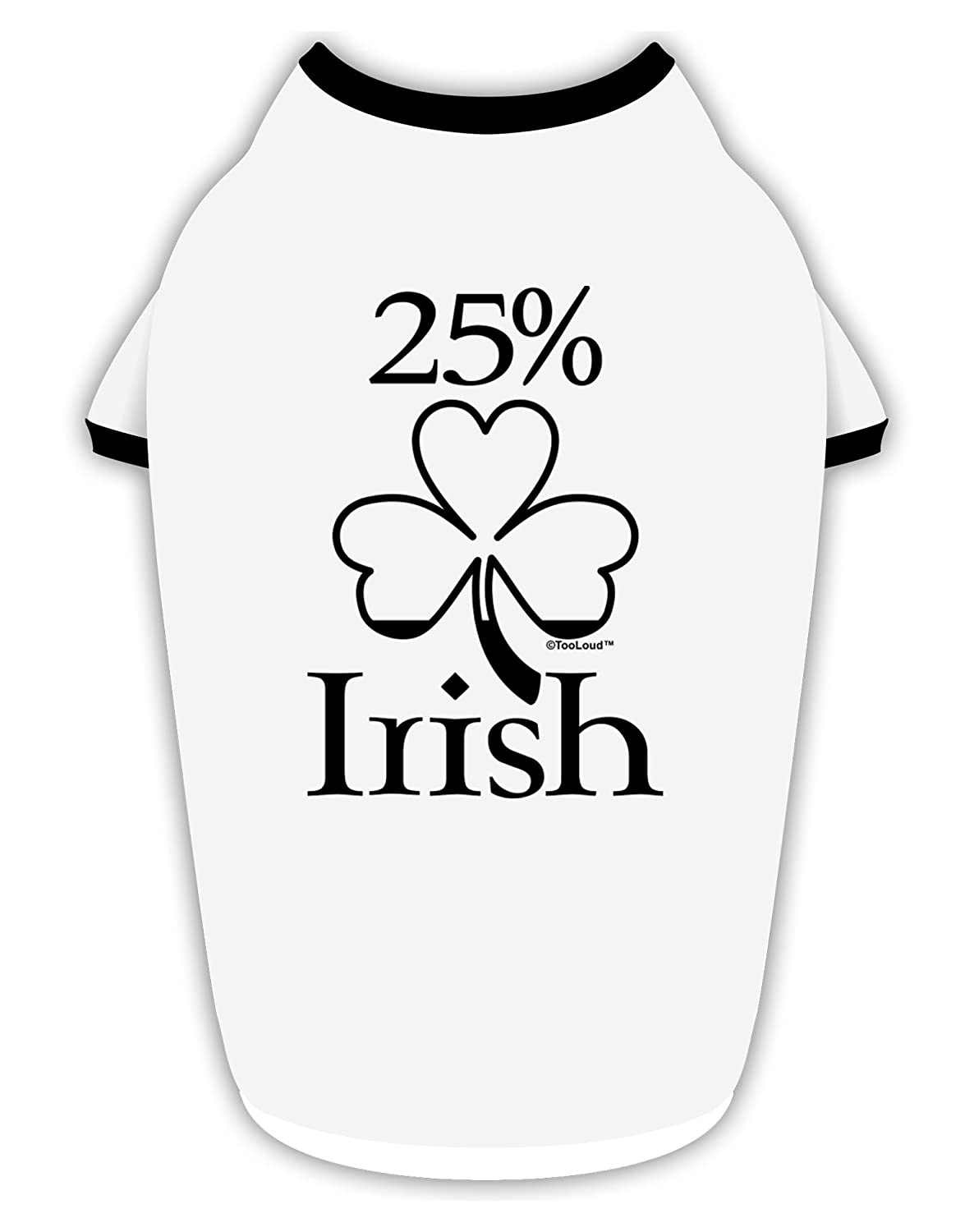 St Patricks Day Infant T-Shirt Dark TooLoud 25 Percent Irish