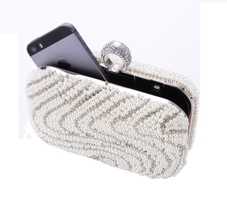 Abless Women Glamour Elegant Bridal Fashion Party Clutch Purses Evening Handbag -SK697