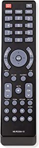 NS-RC03A-13 Remote Control Compatible with Insignia LCD LED TV NS-42L260A13 NS-46L240A13 NS-42E440A13 NS-24L120A13 NS-39E340A13 NS-32L121A13 NS-22E340A13 NS-42D240A13 NS-39E480A13 NS-29L120A