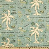 Tommy Bahama Indoor/Outdoor Island Song Surf Fabric By The Yard