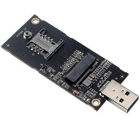 NGFF M.2 Key B SSD A USB 3.0 Adaptador De Tarjeta ...