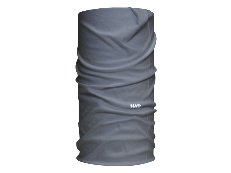 SOLID grau Multifunktionstuch nahtlos verarbeitet Rundschal Pro Feet HAD Originals