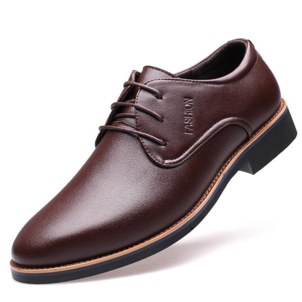 Zxcvb Herrenschuhe Winter Herren Geschäft-Schuhe Herren niedrig zu Breathable Casual Schuhe Kleid Herren Leder schwarz braun helfen