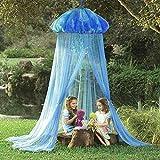 Meiyiu Kids Baby Princess Room Bed Jellyfish Shape Curtain Canopy Summer Mosquito Net Kids Room Decor Cute