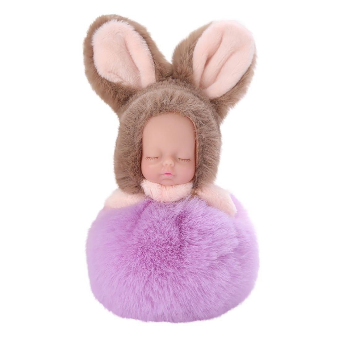 Colgante Llavero, diseño de ratón muñeca peluche bola ...