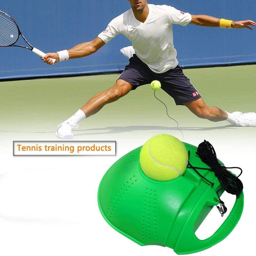 Fill /& Drill Tennis Trainer mit Schnur Rebounder Tennis /Übungsausr/üstung Blivener Solo Tennis Trainer Rebound Ball