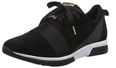 6f34631e59049 Amazon.com: Ted Baker Cepa, Women's Sneakers, Black (Black Blk), 5 ...