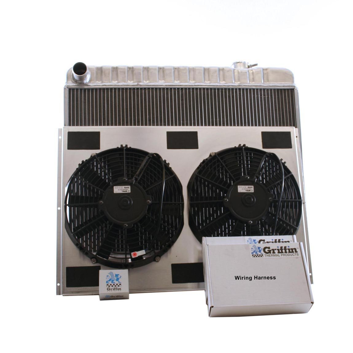 Griffin Radiator CU-00105 ComboUnit Radiator and Electric Fan Kit