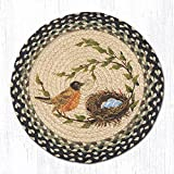 15.5in. x 15.5in. Robins Nest Round Chair Pad - Set of 4