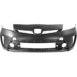 MBI AUTO - Painted to Match, Front Bumper Cover Fascia Replacement for 2012-2015
