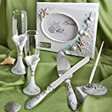 Fashioncraft Personalized, Engraved Beach Themed Wedding Day Accessory Set …