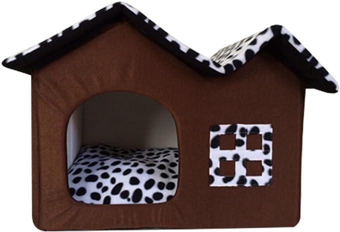 Gatti Rettangolare Divano LvRao Cuccia per Animali Lavabile Casette per Cani Letto Dellanimale Domestico Bandiera, 58 * 45 * 14CM