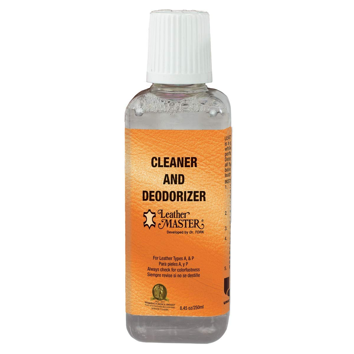 Leather Master Leather Cleaner and Deodorizer - 250ml