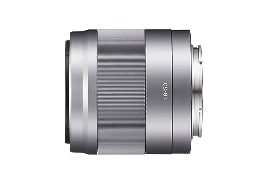 Sony SEL-50F18 Porträt-Objektiv (Festbrennweite, 50 mm, F1.8, APS-C, geeignet für A6000, A5100, A5000 und Nex Serien, E-Mount