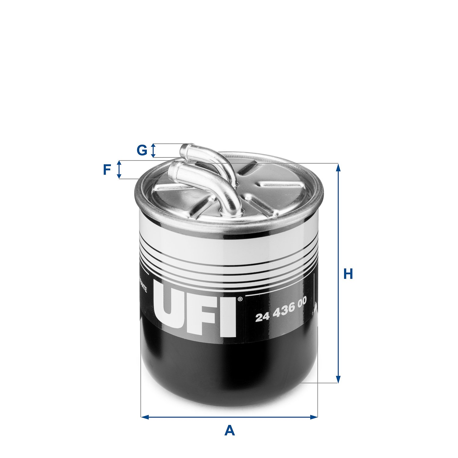 UFI Filters 24.436.00 Diesel Filter
