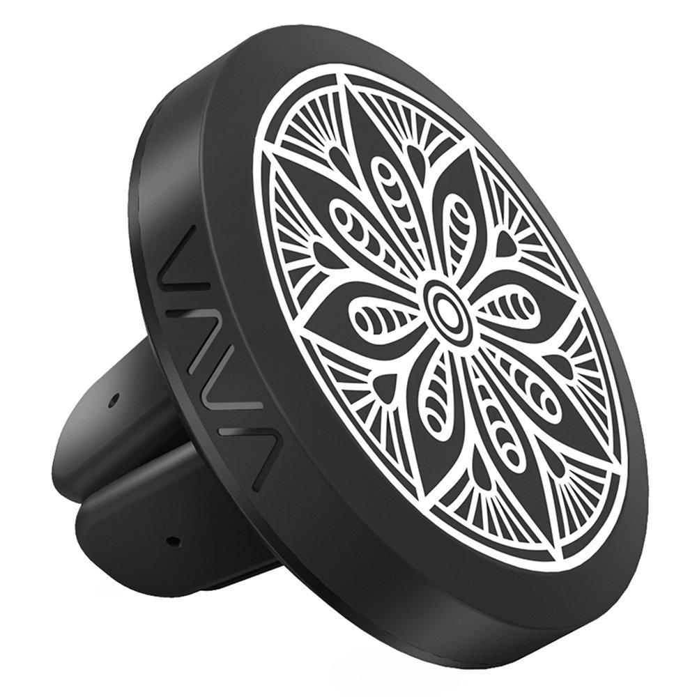 Soporte Móvil Coche Imán VAVA Soprote Teléfono Magnético para GPS (de Ventilación, 360º ajustable, 3 Placas de metal diseñadas,3 maneras de montaje) para iPhone 7, Galaxy S7, Huawey, Smartphone 360º ajustable