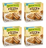 Nature Valley Soft Baked Filled Squares Honey Peanut Butter, 5 Bars (4 Boxes)