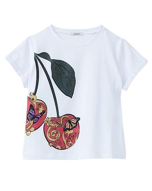 Liu Jo Bambina G19072J5003 Geranio T-Shirt Estate  Amazon.it  Abbigliamento e0d7411645d
