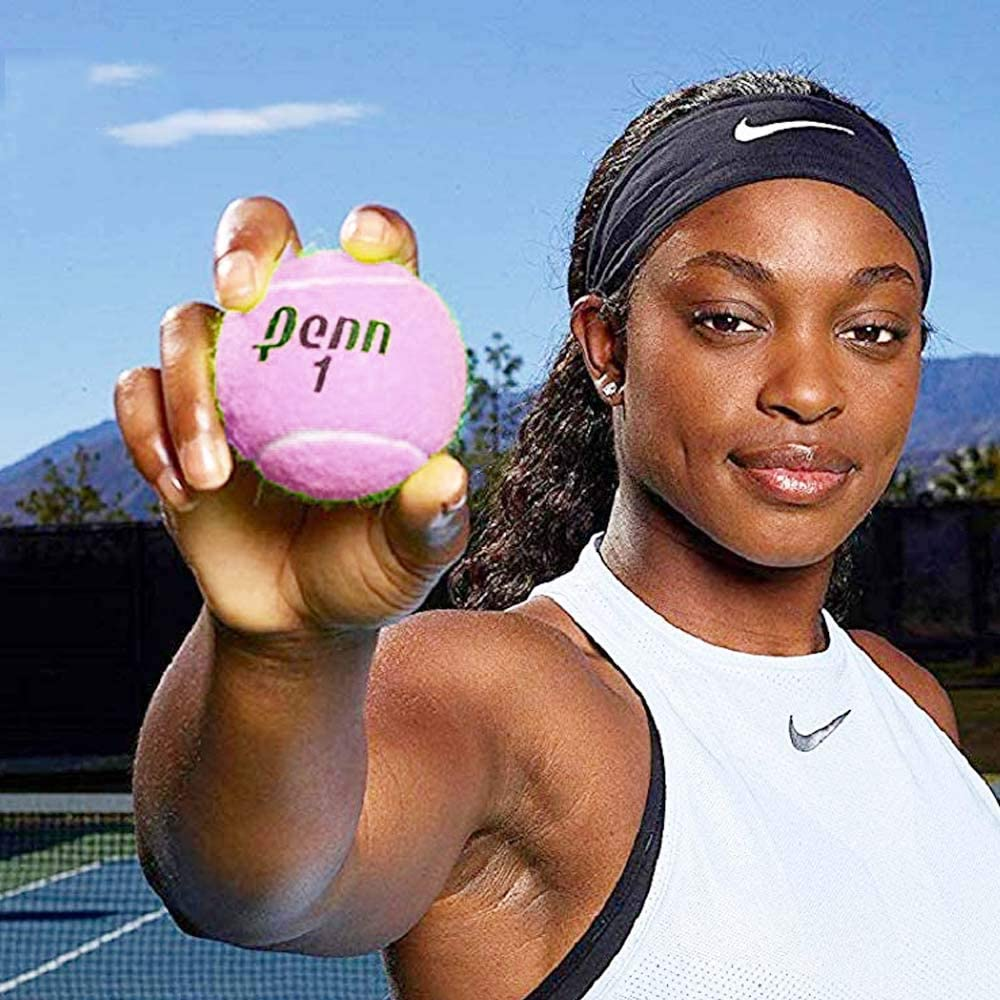 1 Can Championship Pink Tennis Balls 3 Balls New Version