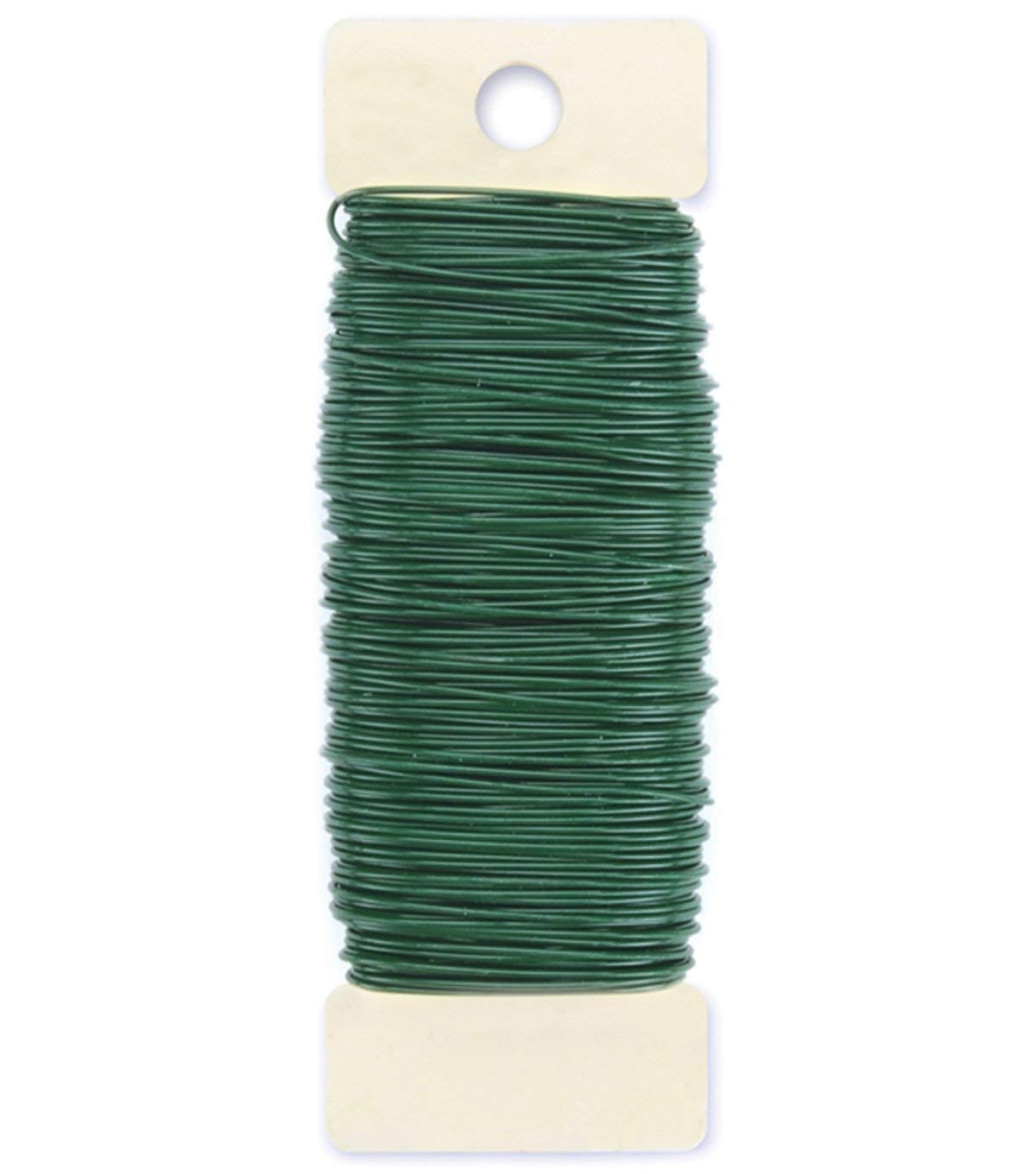 6 Inch Picks Wooden Floral Green Wood Craft Picks Stakes 100 Count /& 22 Gauge Paddle Wire Bundle w// Flower Crafting eGuide
