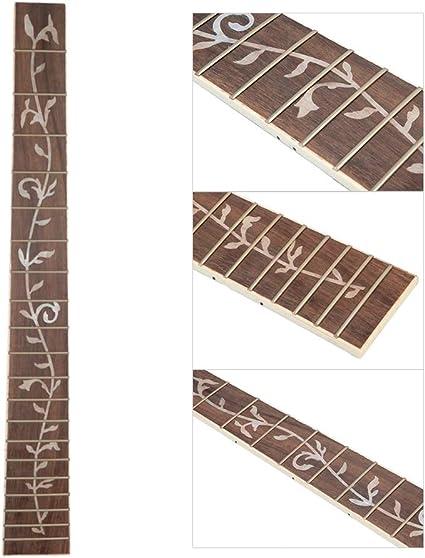 Muslady 41 pulgadas 20 Trastes Guitarra Acústica Folk Fretboard ...