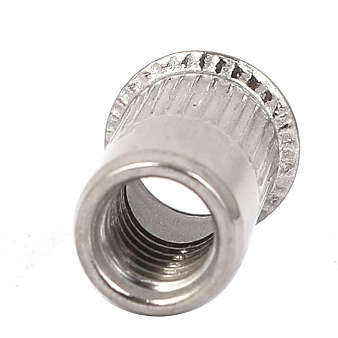 eDealMax a16041900ux0270 M5x12mm 304 plana de acero ...