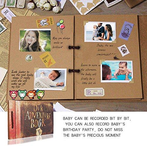 Álbum de fotos para álbum de fotos de boda hecho a mano con libro de aventuras