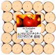 Cocod'or Scented Tealight Candles 25 Pack, Honey Peach, 5-8 Hour Extended Burn Time, Made In Italy