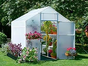 Solexx Garden Master Invernadero de 5 mm de lujo, 20,3 x 40,6 x 20,32 cm